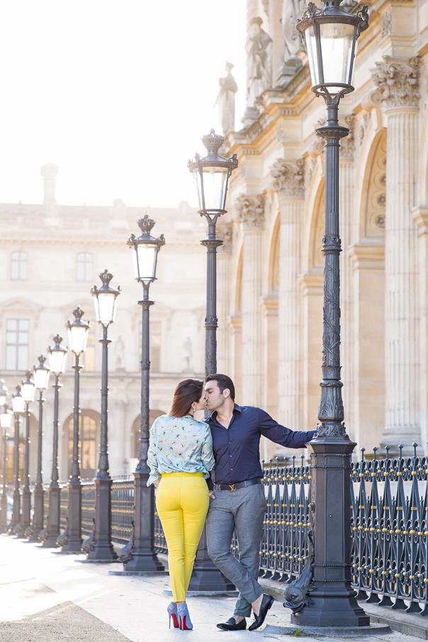 Louvre Museum Engagement in Paris