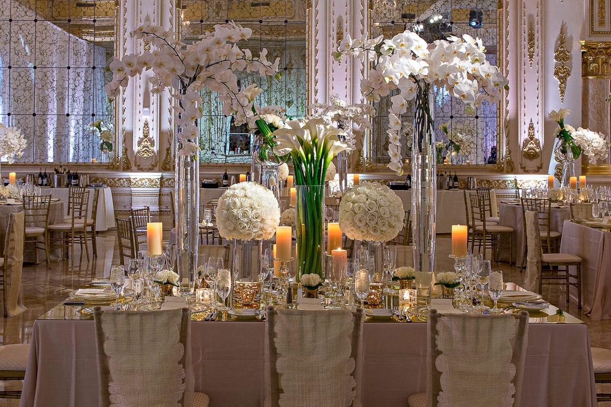 Luxury Wedding ideas Amazing receptions rooms Mar-a-lago Donald Trump residency
