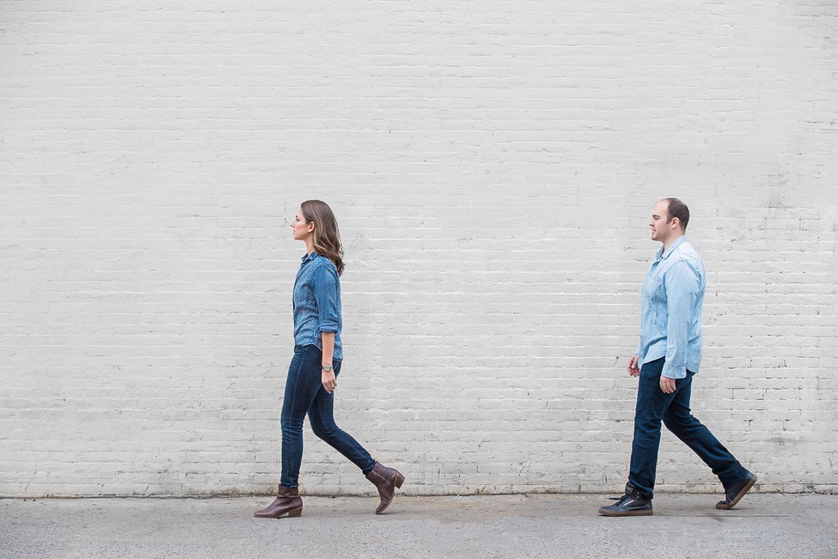 NYC Wedding Photographer DUMBO engagement session