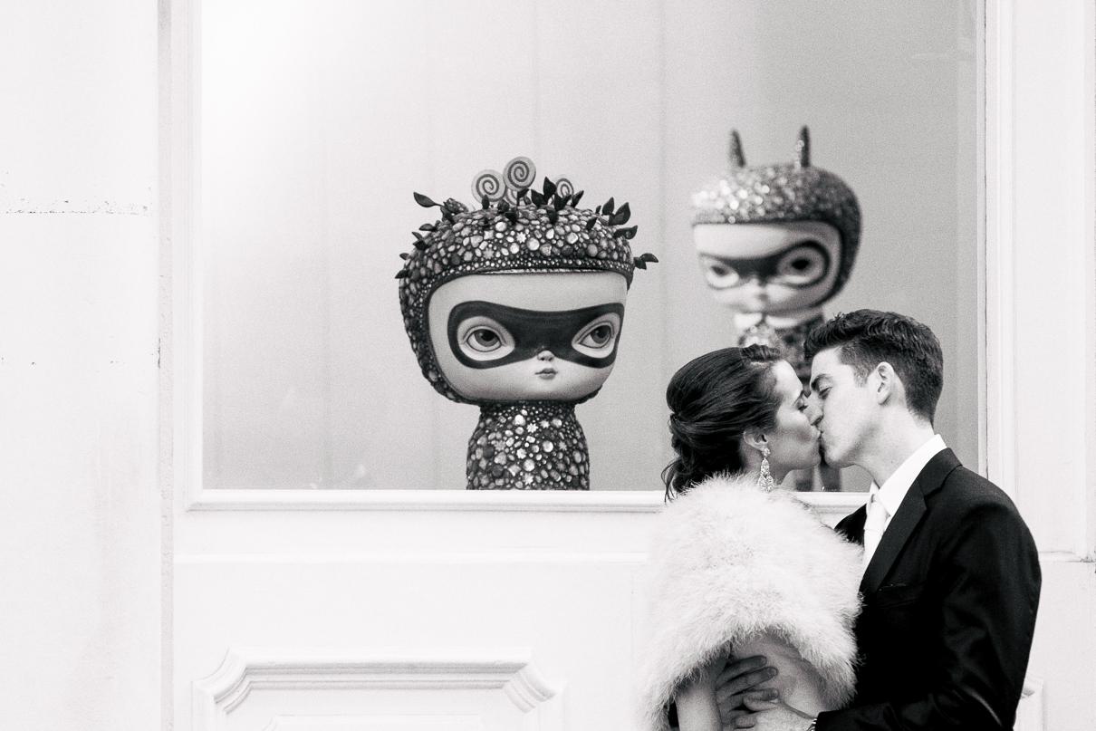 Best NYC Wedding Photographer Creative NYC Engagement Photos