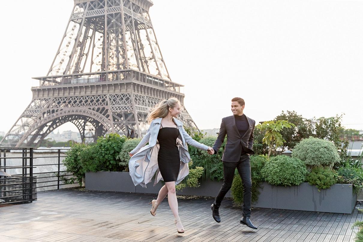 Paris photographer Paris exclusive rooftop and terraces in Paris