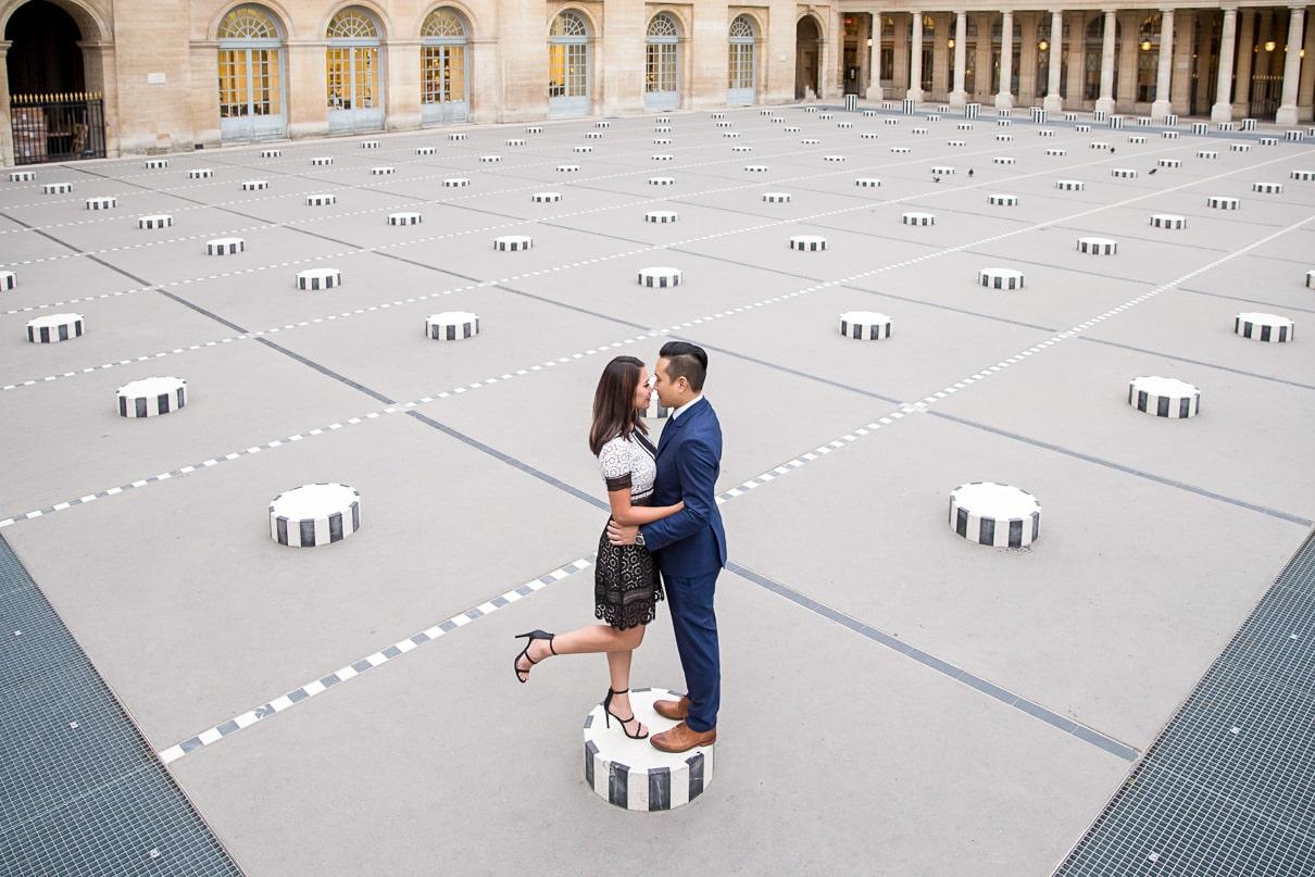 Paris Engagement at the Palais Royal
