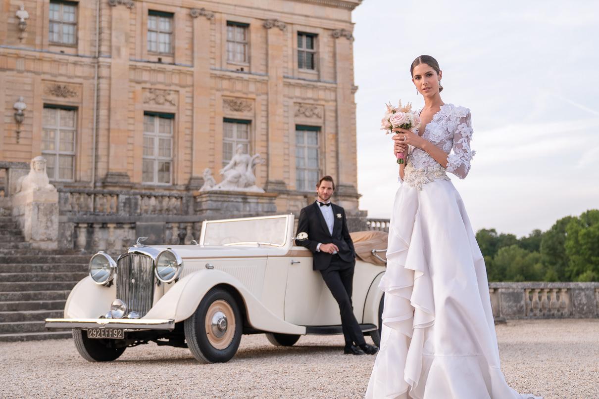 Chateau Vaux-le-Vicomte Luxury Wedding