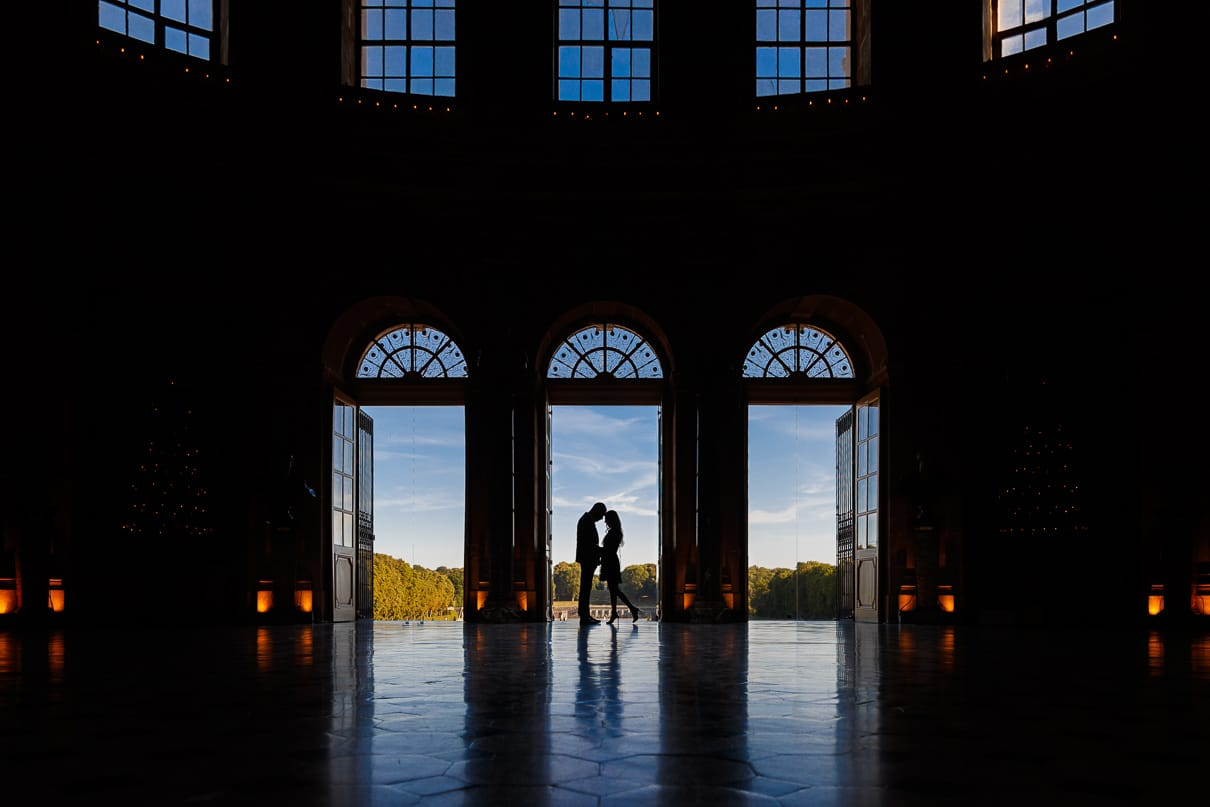 Paris photographer Chateau Vaux Le Vicomte Luxury Proposal