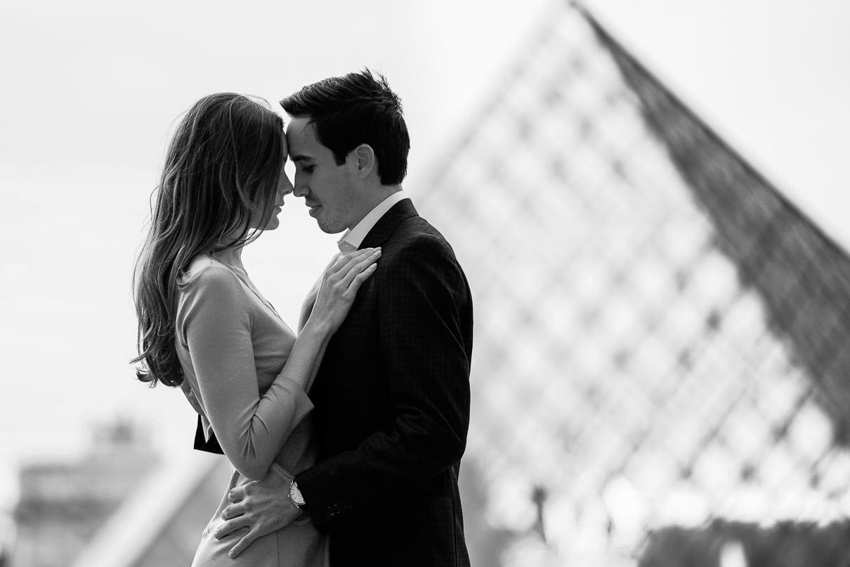Paris photographers exclusive paris rooftop proposal