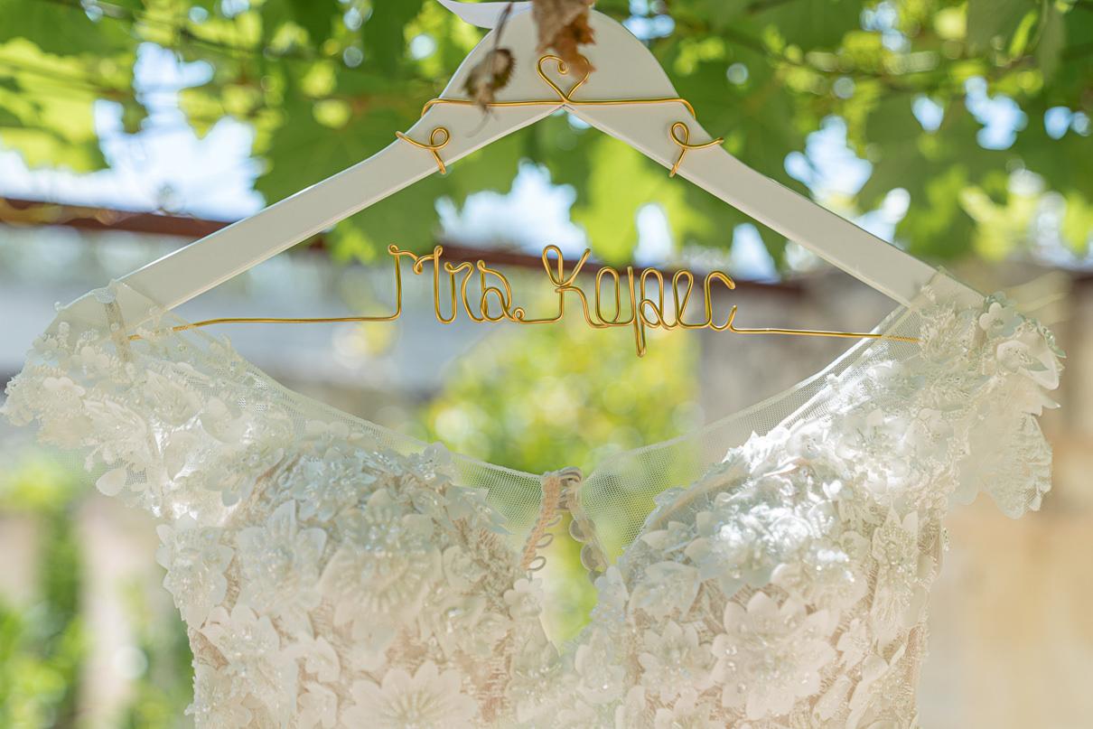 NICOLE SPOSE wedding dress made in Italy Borgo Egnazia Wedding
