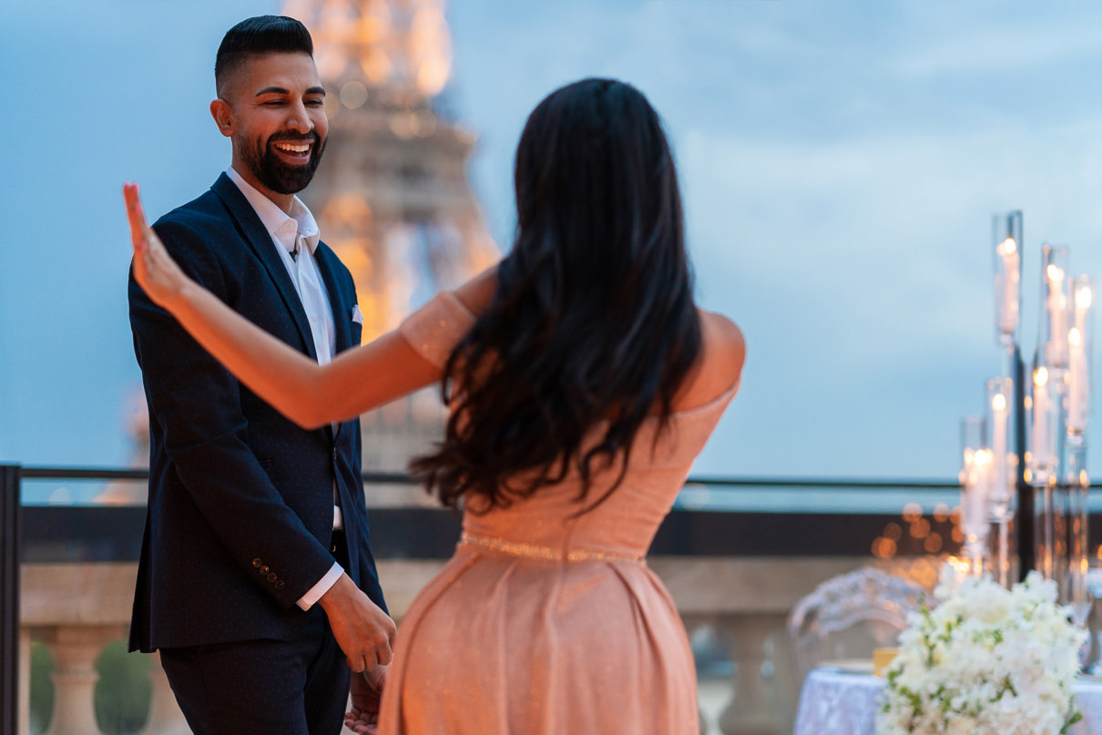 Shangri-La Luxury Proposal with Dhar and Laura